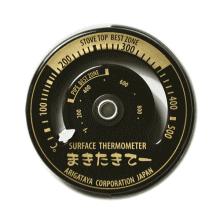 オリジナル温度計ブラック