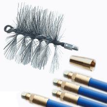 ワイヤーブラシ152セットロック式ロッド